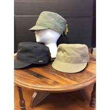 "Paige Poly ""Military"" Cap, Adj."