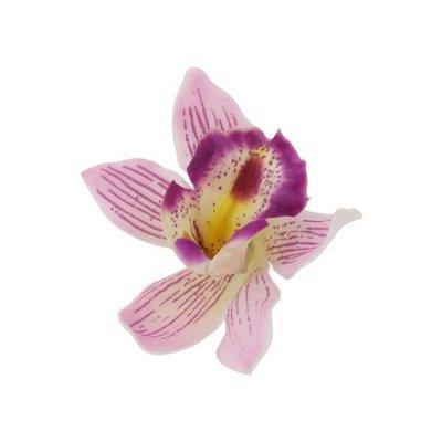 Pink Hawaiian Orchid Clip