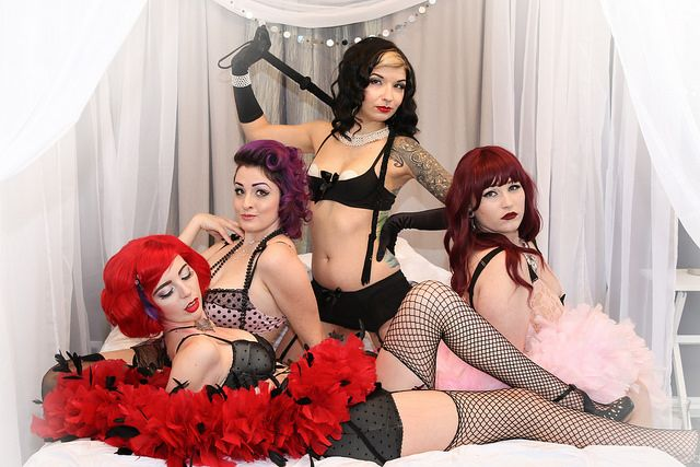 Subspace Lingerie Shoot - Kinky Vixens