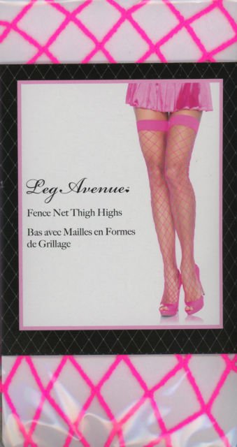687f7344d Leg Avenue Fence Net Thigh-Highs - Subspace