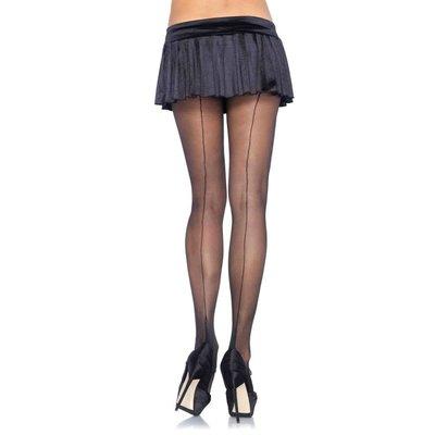 Leg Avenue Spandex Sheer Cuban Heel Pantyhose