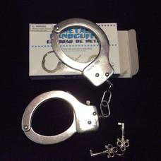 Kookie Chrome Handcuffs