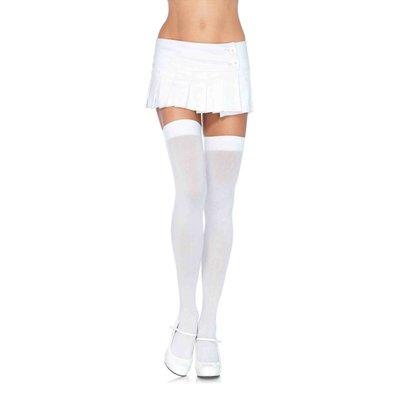 Leg Avenue Opaque Nylon Thigh Highs