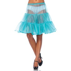 Leg Avenue Shimmer Knee-Length Petticoat