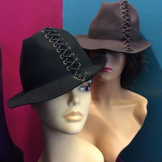 DeLux Hats Promoter Laced-up Fedora