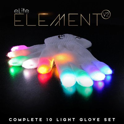 EmazingLights eLite Element V2 Glove Set