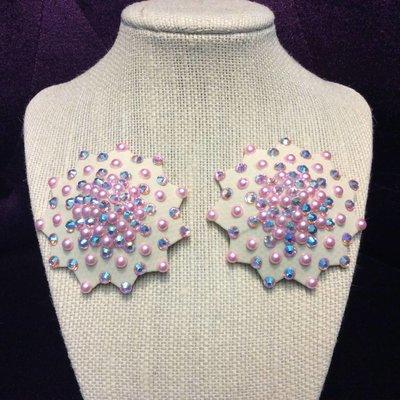 Gothfox Designs Galaxy Pasties/Pinks - S