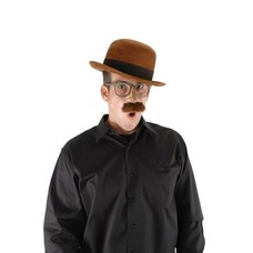 elope Bowler Hat Brown