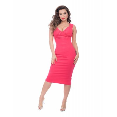 Steady Verona Red Hibiscus Diva Dress
