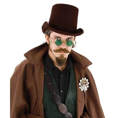 Coachman Hat Dark Brown