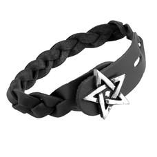 Alchemy England 1977 Pentagram- Gaelic Plait Bracelet