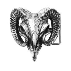 Alchemy England 1977 Ram's Skull Buckle
