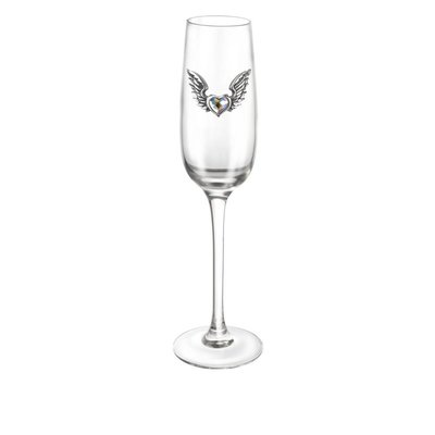 Alchemy England 1977 Wings of Love Champagne Glass