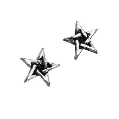 Alchemy England 1977 Pentagram Earrings