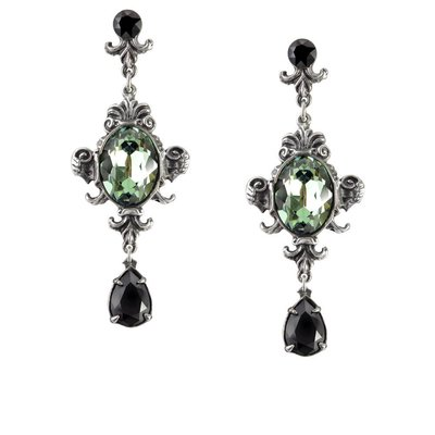 Alchemy England 1977 Queen of the Night Earrings