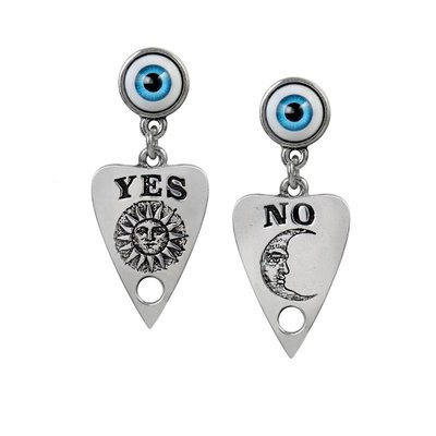 Alchemy England 1977 Ouija Planchette Earrings