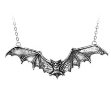 Alchemy England 1977 Gothic Bat Necklace