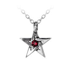 Alchemy England 1977 Crystal Pentagram Pendant