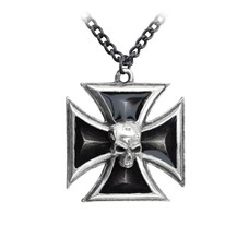 Alchemy England 1977 Black Knight's Cross Pendant