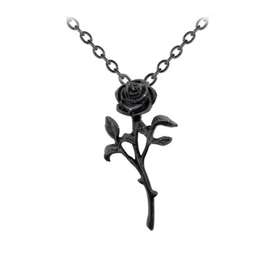 Alchemy England 1977 The Romance of The Black Rose Pendant