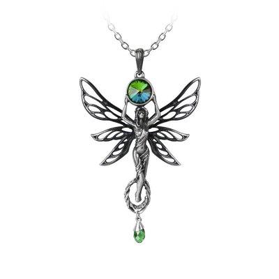Alchemy England 1977 The Green Goddess Pendant