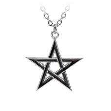 Alchemy England 1977 Black Star Pendant