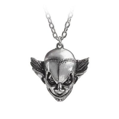 Alchemy England 1977 M'era Luna Evil Clown Pendant