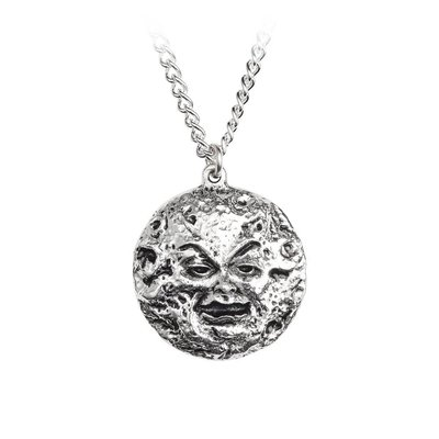 Alchemy England 1977 Man In The Moon Pendant