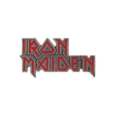Alchemy England 1977 Iron Maiden: Enamelled Logo Pin