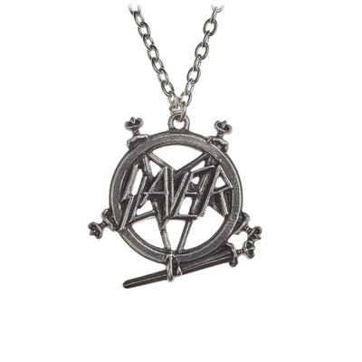 Alchemy England 1977 Slayer: Pentagram Logo Pendant