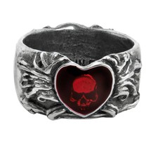 Alchemy England 1977 Broken Heart Ring