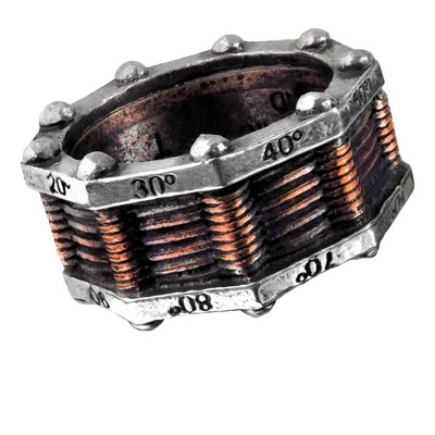Alchemy England 1977 Hi-Voltage Toric Generator Ring