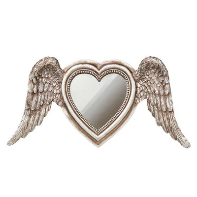 Alchemy England 1977 Winged Heart Mirror