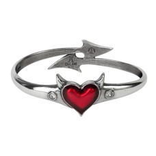 Alchemy England 1977 Devil Heart Bangle