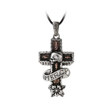 Alchemy England 1977 Mercy Cross Pendant