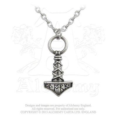 Alchemy England 1977 Thor's Hammer Amulet Pendant
