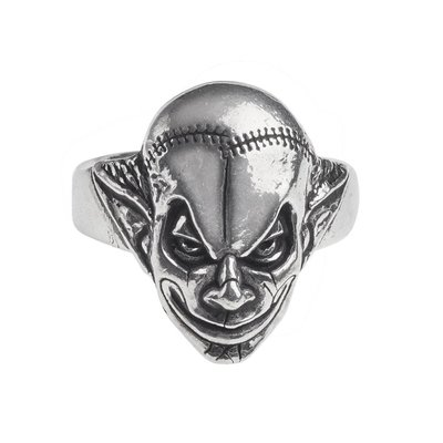 Alchemy England 1977 M'era Luna Evil Clown Ring