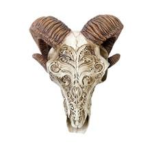 Alchemy England 1977 Scrimshaw Ram Skull