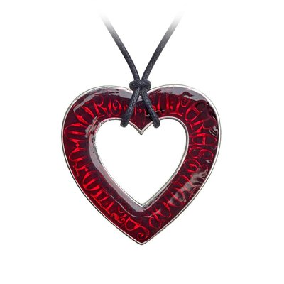 Alchemy England 1977 Love Over Death Pendant