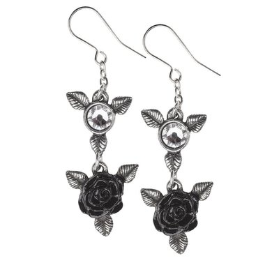 Alchemy England 1977 Ring 'O Roses Earrings