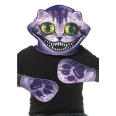 Leg Avenue 2 Pc Cheshire Cat Foam Mask & Paws