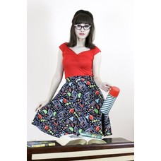 Retrolicious Science A-Line Skirt