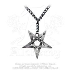 Alchemy England 1977 Pentagration Pendant