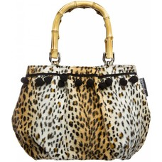Sourpuss Pom Pom Purse - Cheetah
