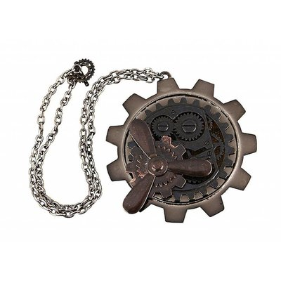 Large Gear Propeller Necklace