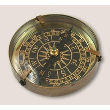 Trixie and Milo Mariner's Compass - Brass