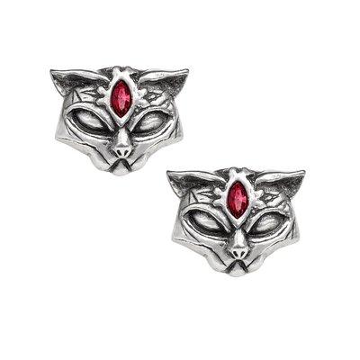 Alchemy England 1977 Sacred Cat Earrings