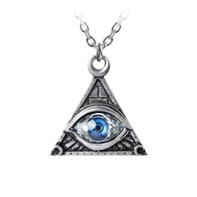 Alchemy England 1977 Eye of Providence Pendant