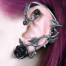 Alchemy England 1977 Black Rose Ear Wrap