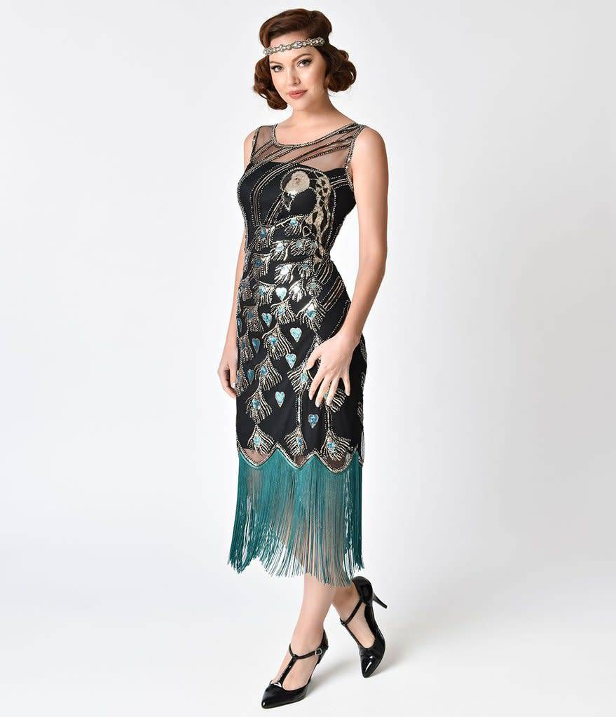Unique Flapper Dresses